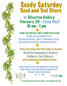Silverton Seedy Saturday @ Silverton Memorial Hall